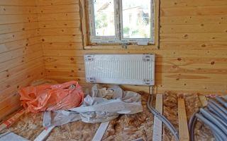 Как провести отопление в деревянном доме: особенности монтажа
