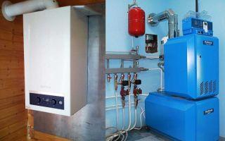 Газовое отопление частного дома своими руками (фото и видео)