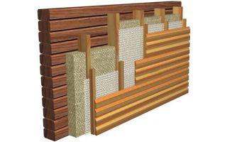 Утепление фасадов деревянных домов: дома из бруса, бревенчатого дома