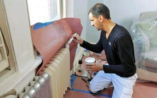 Покраска труб отопления: технология окрашивания, какую краску выбрать (видео)