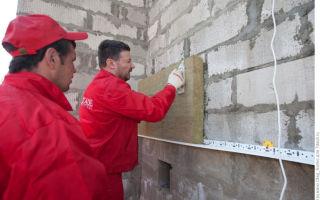 Утепление газосиликатных стен снаружи и внутри дома
