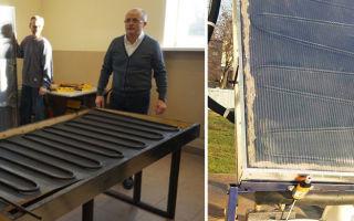 Солнечный коллектор для отопления своими руками (фото и видео)