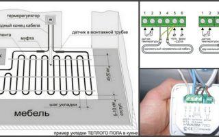 Подключение регулятора теплого пола и классификация регуляторов