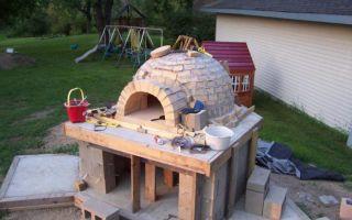 Помпейская печь своими руками — особенности постройки