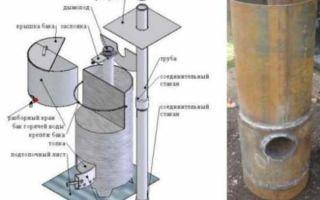 Как сварить котел для бани своими руками: монтаж, чертежи (фото и видео)