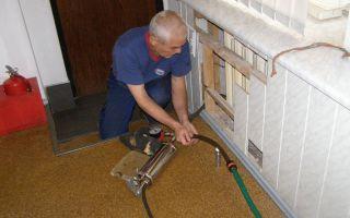 Очистка систем отопления: методы