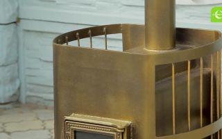 Чем покрасить металлическую печь: критерии по выбору краски