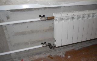 Подключение батарей отопления: схемы (фото и видео)
