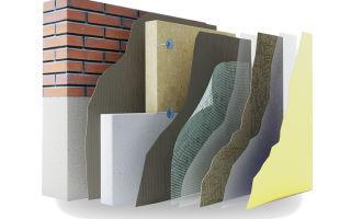 Технология утепления фасадов разными видами материалов