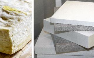Недорогой утеплитель: пенопласт и минеральная вата