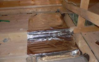 Как утеплить потолок бани своими руками (фото)