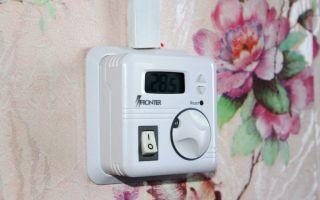 Установка термостата: меры безопасности и порядок установки