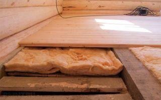 Утепление пола в деревянном доме своими руками: монтаж