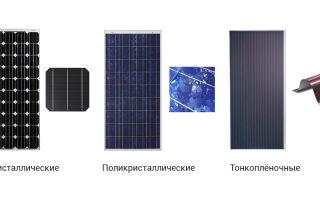 Какие солнечные батареи лучше брать: сравнение конструкции панелей