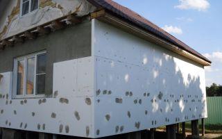 Утепление фасада пенопластом своими руками (фото и видео)