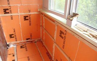 Как утеплить балкон пеноплексом своими руками: подготовка и монтаж