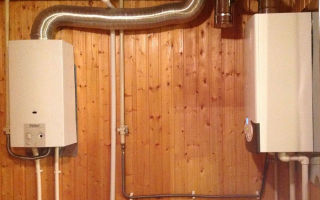 Установка двухконтурного газового котла в частном доме — советы