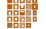 Порядовка печи голландка: схема кладки