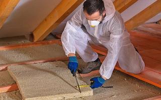Как выбрать утеплитель для потолка дома: советы
