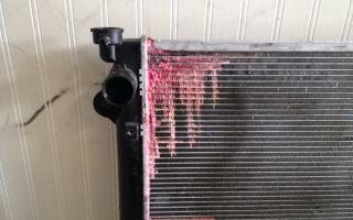 Радиатор потек: особенности ремонта