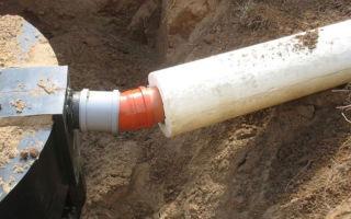 Утепление канализационной трубы на улице своими руками