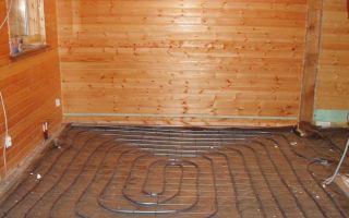 Водяной теплый пол в бане: устройство, нюансы монтажа