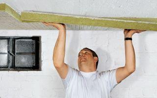 Утепление потолка изнутри — материалы и правила
