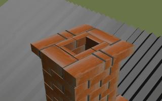 Печная труба из кирпича: основные этапы строительства