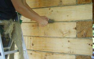 Утепление стен в деревянном доме своими руками: инструменты и материалы (видео)
