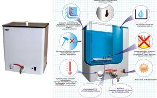Как выбрать водонагреватель для дачи: советы