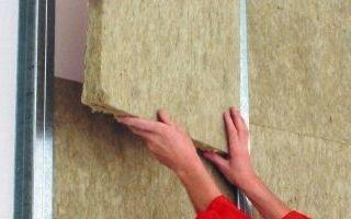 Утепление бетонных стен изнутри: выбор материалов и порядок проведения работ
