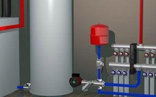 Установка котла отопления своими руками: материалы, важные моменты