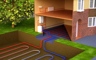 Тепло земли для отопления дома