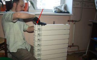 Установка стальных радиаторов своими руками