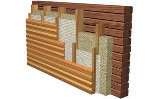 Как утеплить стены деревянного дома: методы