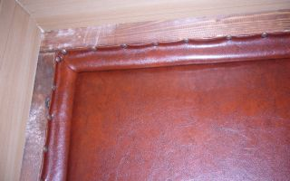 Как утеплить входную деревянную дверь своими руками (фото)