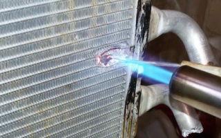 Пайка алюминиевых радиаторов: лудить, паять