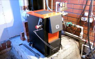Отопление частного дома твердотопливным котлом: особенности установки