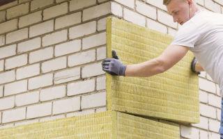 Утепление фасадов минеральной ватой: преимущества, технология