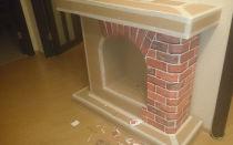 Декоративный камин своими руками: схема, инсрукция (фото и видео)