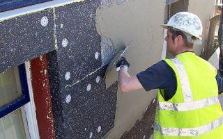 Утепление фасадов пенополистиролом своими руками: технология
