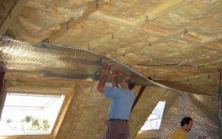 Как утеплить мансарду в деревянном доме и чем?