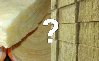 Стекловата или минеральная вата: что лучше?