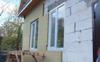 Утепление дома из газобетона снаружи своими руками (фото и видео)