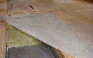 Пароизоляция деревянного пола: подготовка, материалы, укладка