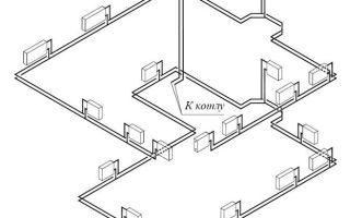Двухтрубная система отопления поэтажная двухэтажного частного дома