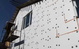 Утепление наружных стен пенополистиролом своими руками: материалы, инструменты, подготовка, процесс (видео)