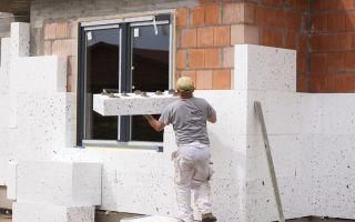 Утепление стен пенопластом: подготовительные работы и технология