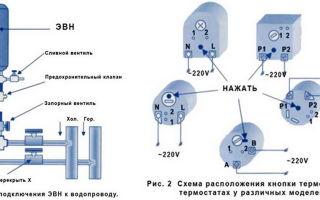 Схема подключения проточного водонагревателя — требования