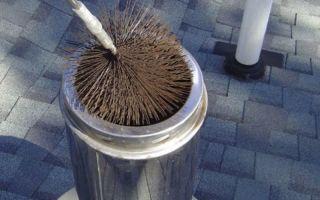 Как прочистить дымоход своими руками: химические и механические методы (видео)